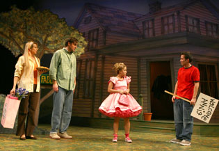 Joan Hess, Patrick Boll, Jennifer Cody, and Joseph Morales