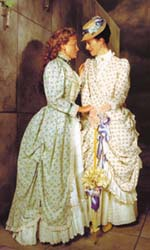 Claire Jullien and Michelle Girouxin The Importance of Being Earnest