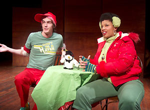 Evan Enderle and Pernell Walker