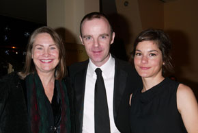 Cherry Jones, Brían F. O'Byrne, and Heather Goldenhersh