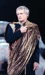 David McCallum as Julius Caesar(Photo: Michal Daniel)