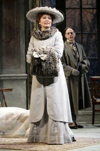 Kate Burton and Mark Blum