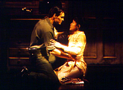 Bogart with Joan Almedilla in Miss Saigon