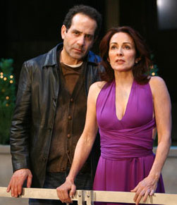 Tony Shalhoub and Patricia Heaton in The Scene