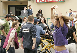 A scene from the musical episode of Scrubs(© Chris Haston, NBC Universal Inc.)