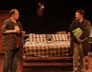 Sidney WIlliams and Kevin Cristaldi in The Dirty Talk