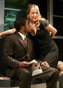 Dulé Hill and Jennifer Mudge