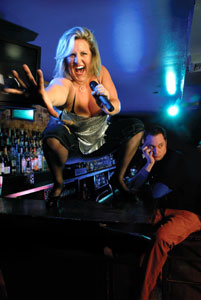 Bridget Everett and Kenny Mellman
