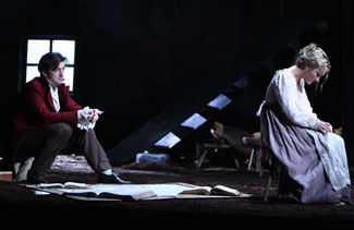 Alan Cox and Morgan Hallett in Translations