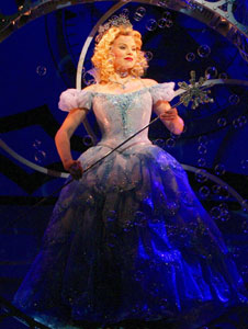 Megan Hilty in Wicked