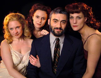 Kati Brazda, Laura Flanagan, Morgan Spector, and Elizabeth Rich
