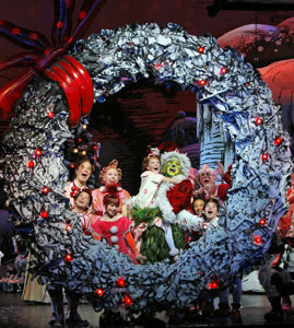 a scene from dr seuss how the grinch stole christmas the musical