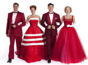 The Cast Of White Christmas.Irving Berlin S White Christmas Theatermania