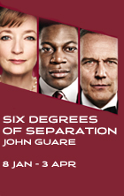 Review Roundup Six Degrees Of Separation Directed By David Grindley Opens At Old Vic Theatre
