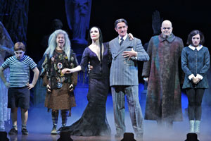 Addams Family Musical Costumes